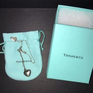 Authentic Tiffany & Co. locket with chain